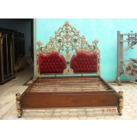 Indonesia furniture manufacturer and wholesaler Bed empire king size