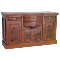 Indonesia furniture manufacturer and wholesaler Bow Drawer Sideboard