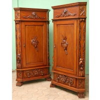 Indonesia furniture manufacturer and wholesaler Corner cabinet geovani