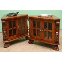 Indonesia furniture manufacturer and wholesaler Corner cabinet victorian small