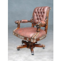 Indonesia furniture manufacturer and wholesaler Chair office empire lion