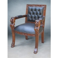 Indonesia furniture manufacturer and wholesaler Chair lion head small