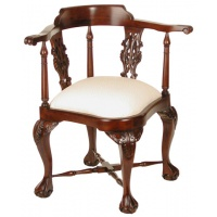 Indonesia furniture manufacturer and wholesaler Chippendale corner chair