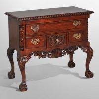 Indonesia furniture manufacturer and wholesaler Chippendale lowboy