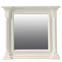 Indonesia furniture manufacturer and wholesaler Small Georgian Mirror White