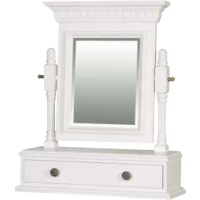 Indonesia furniture manufacturer and wholesaler Georgian Swing Mirror White