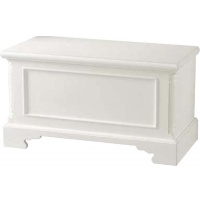 Indonesia furniture manufacturer and wholesaler Georgian Blanket Box White