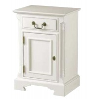 Indonesia furniture manufacturer and wholesaler Georgian Pot Cupboard White