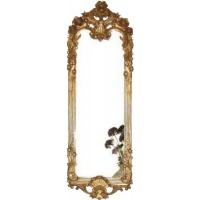 Indonesia furniture manufacturer and wholesaler Gilt Slim Arch top Mirror
