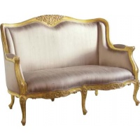 Indonesia furniture manufacturer and wholesaler Versailles 2 Seater Settee Silk