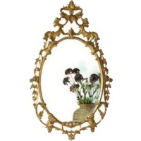 Indonesia furniture manufacturer and wholesaler Gilt Finely Carved Mirror