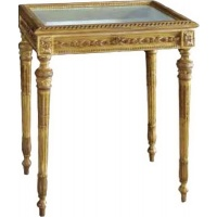 Indonesia furniture manufacturer and wholesaler Gilt French Showcase