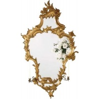 Indonesia furniture manufacturer and wholesaler Gilt Candle Mirror