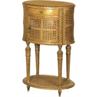 Indonesia furniture manufacturer and wholesaler Gilt Bergere Bedside