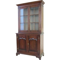 Indonesia furniture manufacturer and wholesaler Cotswold Glazed Bookcase