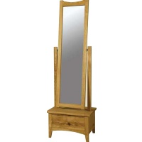 Indonesia furniture manufacturer and wholesaler Harvard Cheval Mirror with Drawer