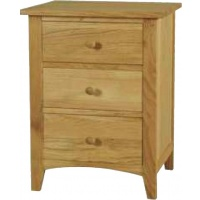 Indonesia furniture manufacturer and wholesaler Harvard 3 Drawer Bedside