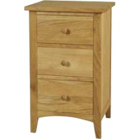 Indonesia furniture manufacturer and wholesaler Harvard 3 Drawer Slim Bedside
