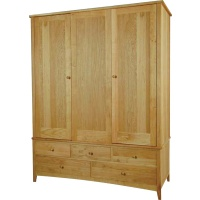 Indonesia furniture manufacturer and wholesaler Harvard Triple Wardrobe