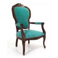 Indonesia furniture manufacturer and wholesaler Craved armchair