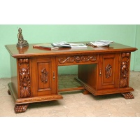 Indonesia furniture manufacturer and wholesaler Desk art frame victorian