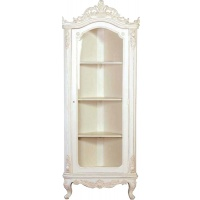 Indonesia furniture manufacturer and wholesaler Chateau Glazed Corner Cabinet