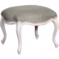 Indonesia furniture manufacturer and wholesaler Chateau Linen Footstool