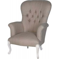 Indonesia furniture manufacturer and wholesaler Chateau Linen Wing Chair