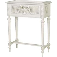 Indonesia furniture manufacturer and wholesaler Chateau Small Plant Stand with Rattan
