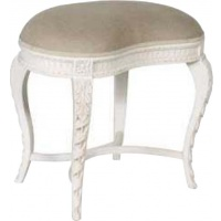 Indonesia furniture manufacturer and wholesaler Chateau Carved Dressing Table Stool
