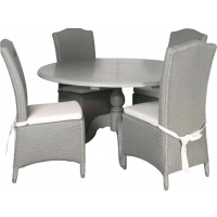 Indonesia furniture manufacturer and wholesaler Grey Dining Chair with Cushion