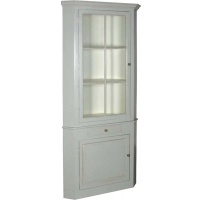 Indonesia furniture manufacturer and wholesaler Fayence Tall Corner Cupboard