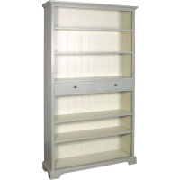 Indonesia furniture manufacturer and wholesaler Fayence 2 Drawer Bookcase