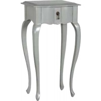 Indonesia furniture manufacturer and wholesaler Fayence 1 Drawer Lamp Table