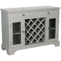 Indonesia furniture manufacturer and wholesaler Fayence Sideboard with Wine Rack