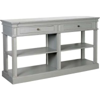 Indonesia furniture manufacturer and wholesaler Fayence 2 Drawer Shelf Buffet