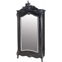 Indonesia furniture manufacturer and wholesaler Moulin Noir Mirrored Armoire