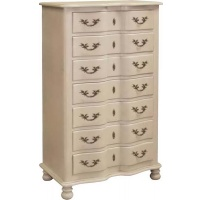 Indonesia furniture manufacturer and wholesaler Portofino 7 Drawer Tall Chest
