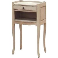 Indonesia furniture manufacturer and wholesaler Portofino 1 Drawer Open Bedside