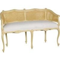 Indonesia furniture manufacturer and wholesaler Valbonne 2 Seater Settee with Rattan
