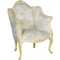 Indonesia furniture manufacturer and wholesaler Valbonne Louis Chair Toile