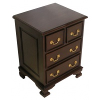 Indonesia furniture manufacturer and wholesaler Georgian Bedside of Drawers