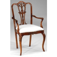 Indonesia furniture manufacturer and wholesaler Queen Anne Armchair