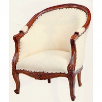 Indonesia furniture manufacturer and wholesaler Queen Anne Tub Chair