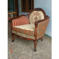 Indonesia furniture manufacturer and wholesaler Sofa minister 1 seater