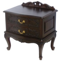 Indonesia furniture manufacturer and wholesaler Serpentine Bedside