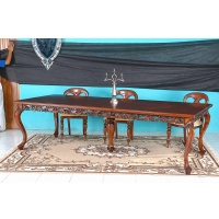 Indonesia furniture manufacturer and wholesaler Table elegant in mahogany