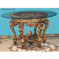 Indonesia furniture manufacturer and wholesaler Table round royal dia 97 cm