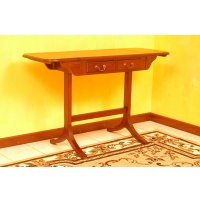 Indonesia furniture manufacturer and wholesaler Serving table 2 drawers