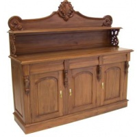 Indonesia furniture manufacturer and wholesaler Victorian Chiffonier 3 door